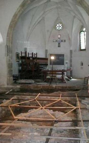 Interno chiesa di San Martino