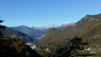 "Val Degano view from ""Cuel Budin"""